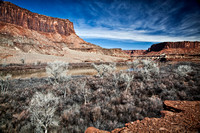 The Green River in Canyonlands