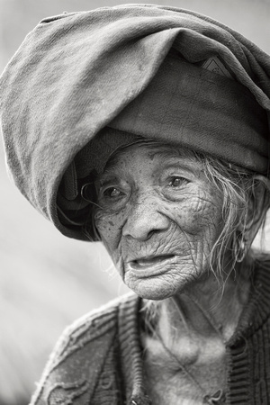 103 year old Burmese Tribal Woman 1
