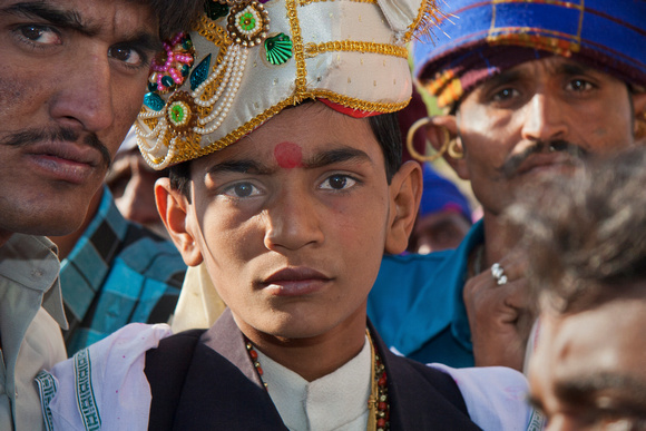 Accompanied Village Boy going to Wed Child Bride